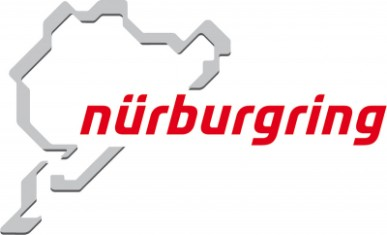 Logo of the Nürburgrings with stylised contour of the racing track